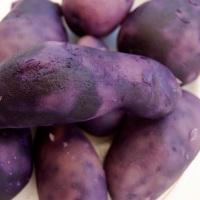 Ensalada de patata azul oliva